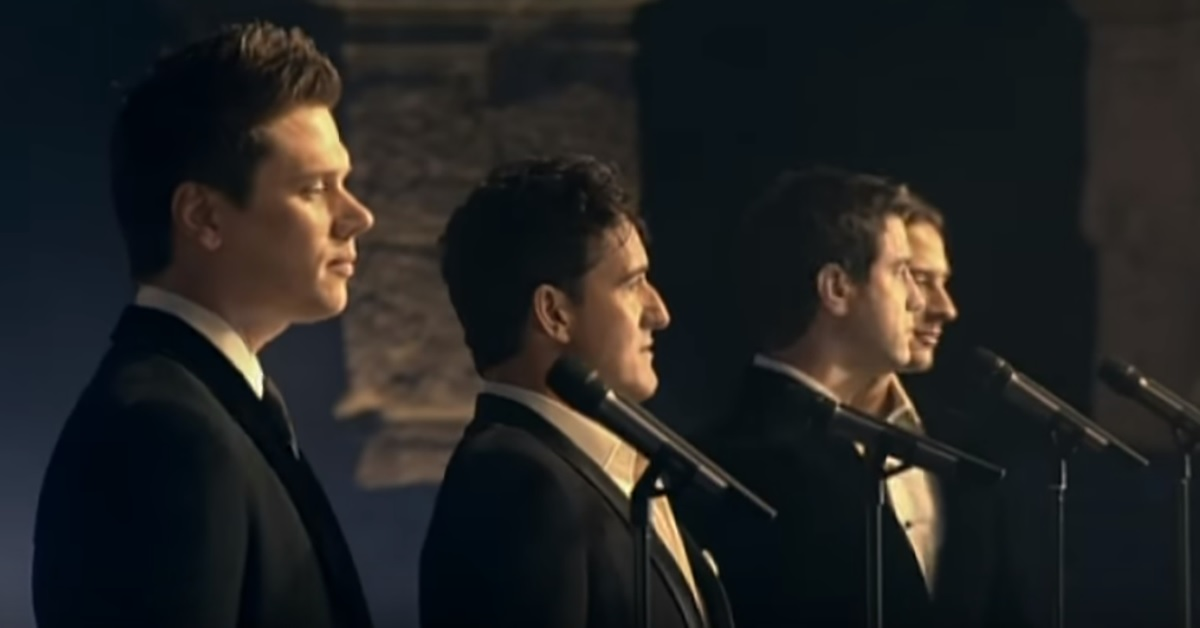 When il divo started singing amazing grace it has - Il divo amazing grace video ...