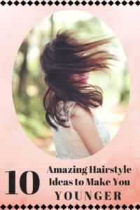 Beautiful tips for your hair to make you look younger! Find your hairstyle and be gorgeous! Save the pin!