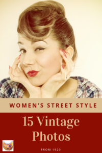 Amazing photos from 20s' that shows incredible style! Timeless designs that will make your head go round. Save and repin!